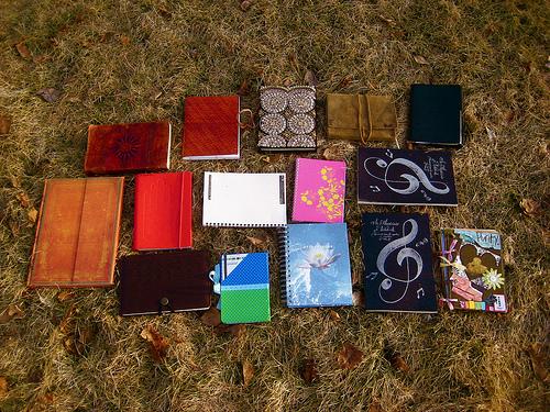 tiny notebooks
