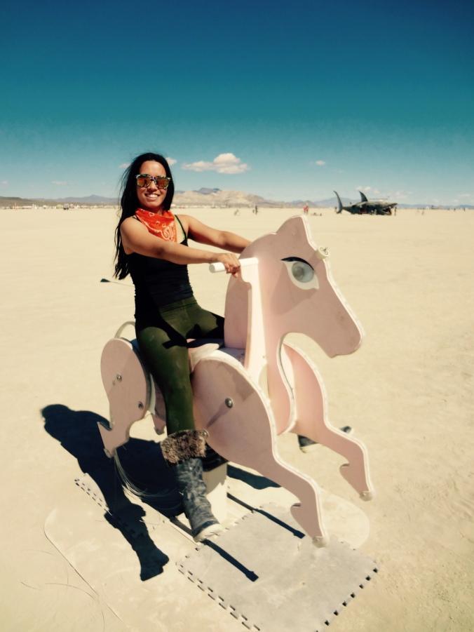 Andrea Ellickson Burning Man